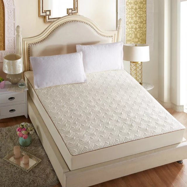 Quilted Mattress Pad/Cover | Fitted Mattress Protector