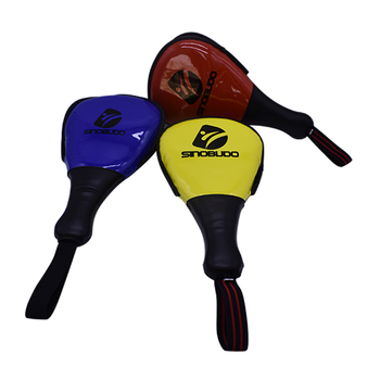 SINOBUDO Taekwondo Double Foot Target Kick Boxing Pad TaeKwonDo Karate Kickboxing Child Training Equipment