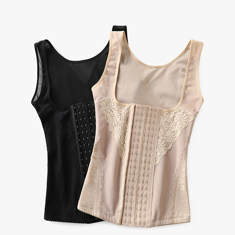 Women Body Control Corset Slimming Belt Sexy Lifting Chest Waist Shapers Modeling Straps Shape-wear Body Trainers