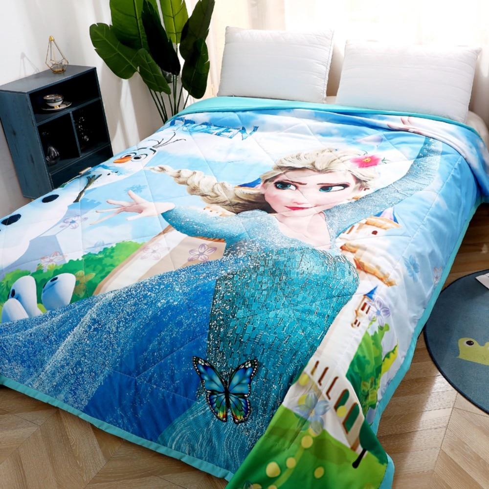 neve, manta macia confortável verão, cama para