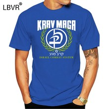 Men Summer Short Sleeves Casual Funny T Shirt Men Casual New Krav Maga Israel Combat System Self Defense Martial Artser T Shirt(China)