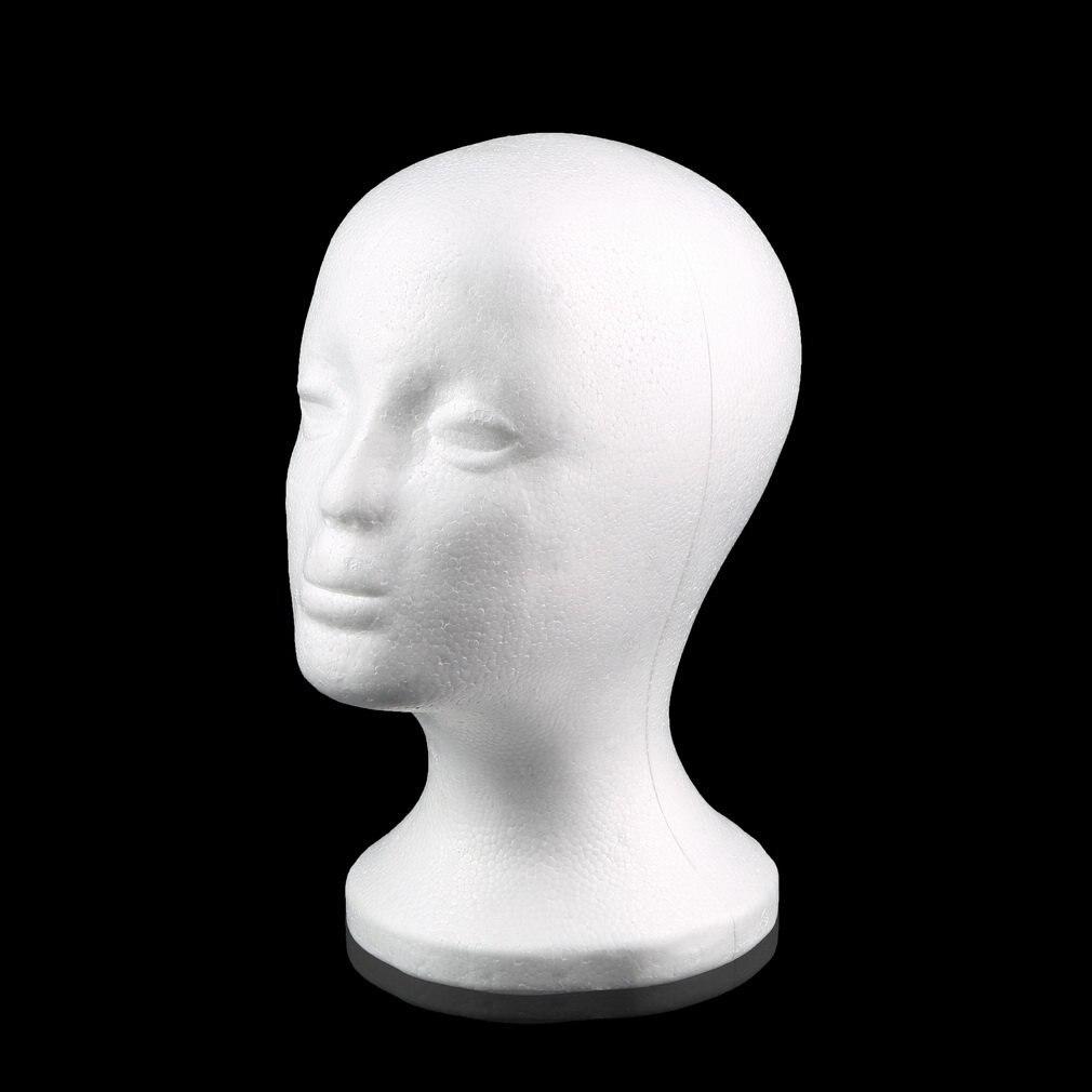 2020 горячий белый женский манекен из пенополистирола модель манекен-голова из пенополистирола парик волосы очки дисплей очки крышка Диспле...