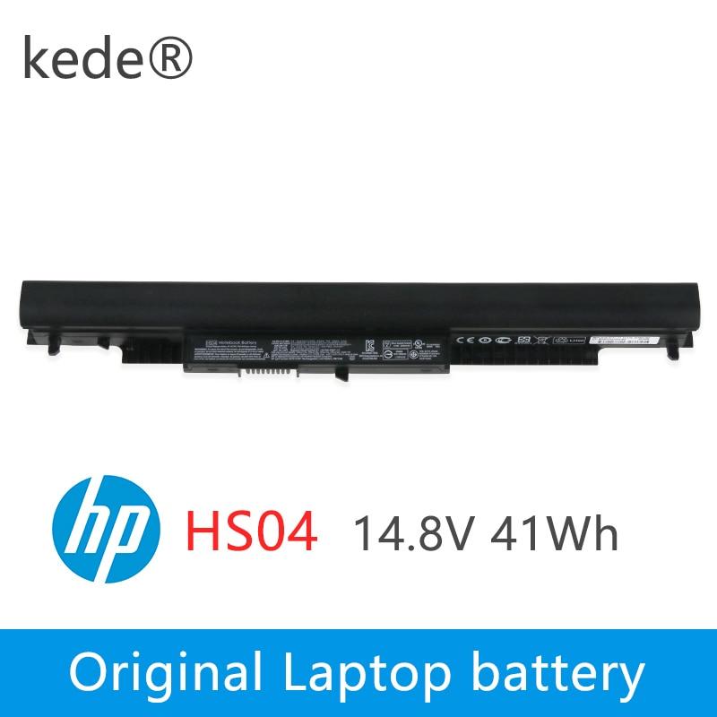 41WH HS04 Laptop Battery For HP Pavilion 14-ac0XX 15-ac0XX 255 245 250 G4 240 HSTNN-LB6V HSTNN-PB6S 807611-831 HS03 2800mah