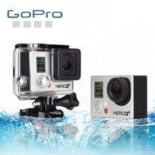 Gopro hero 3 + câmera de ação preta esportes ao ar livre com 4k ultra hd vídeo gopro 3 +