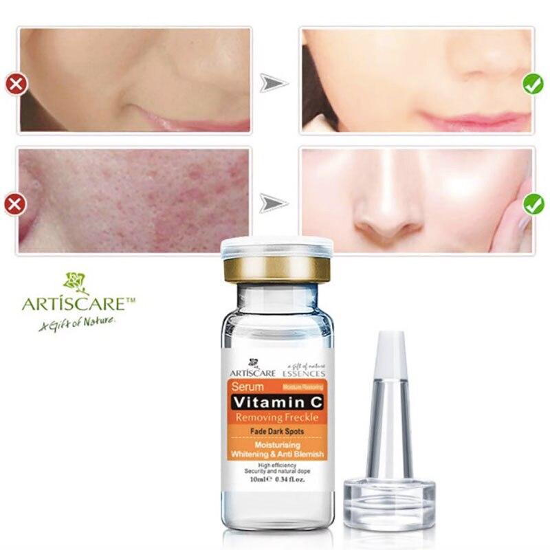 vitamin c serum for face clareador facial cremes para o rosto anti idade sueros facials whitening crema blanqueadora skin care