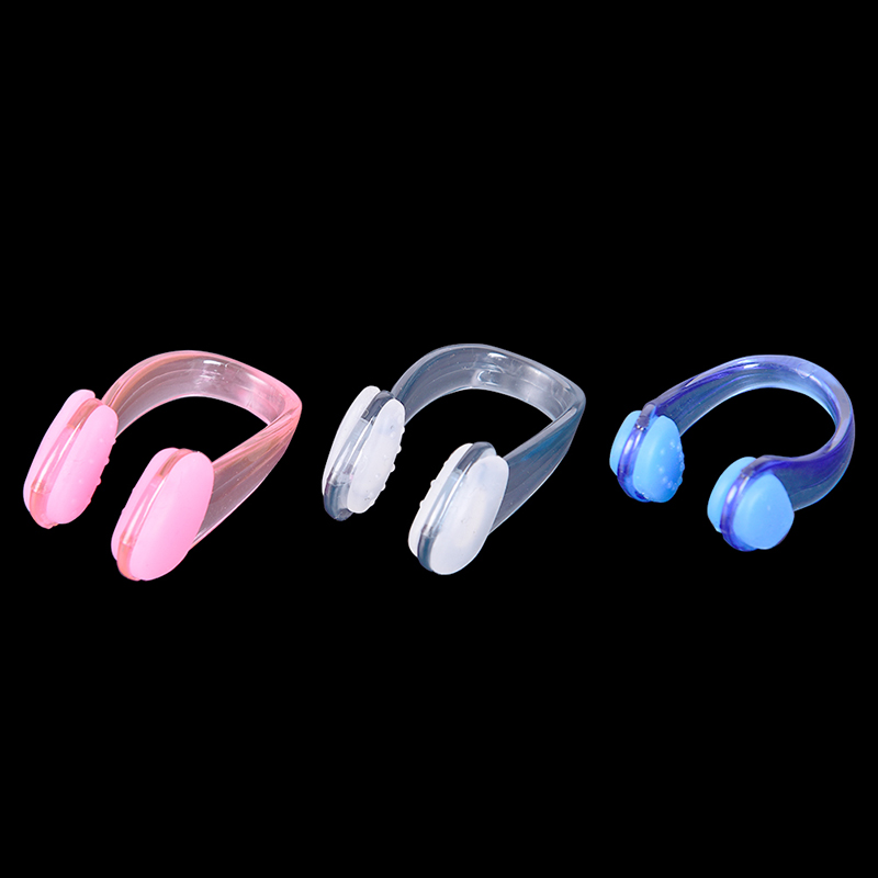 1 Pcs Unisex Nose Clip Soft Silicone Swimming Nose Clips Waterproof Nose Clip For Children Adults Pool Accessories Water Sports