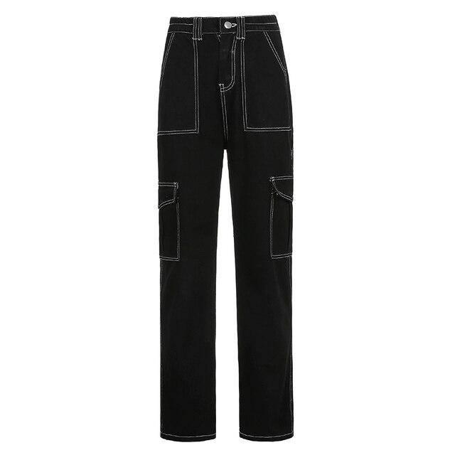 Baggy Jeans Fashion Streetwear 100% Cotton  5