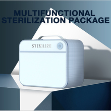 Nail UV Sterilization Box Sterilizer Multifunction Disinfection Makeup Tools Phone Masks Jewelry Clean Portable Storage Bag uv sterilizer professional tools disinfecting cabinets sterilization household nail salon spa beauty instrument clean appliances