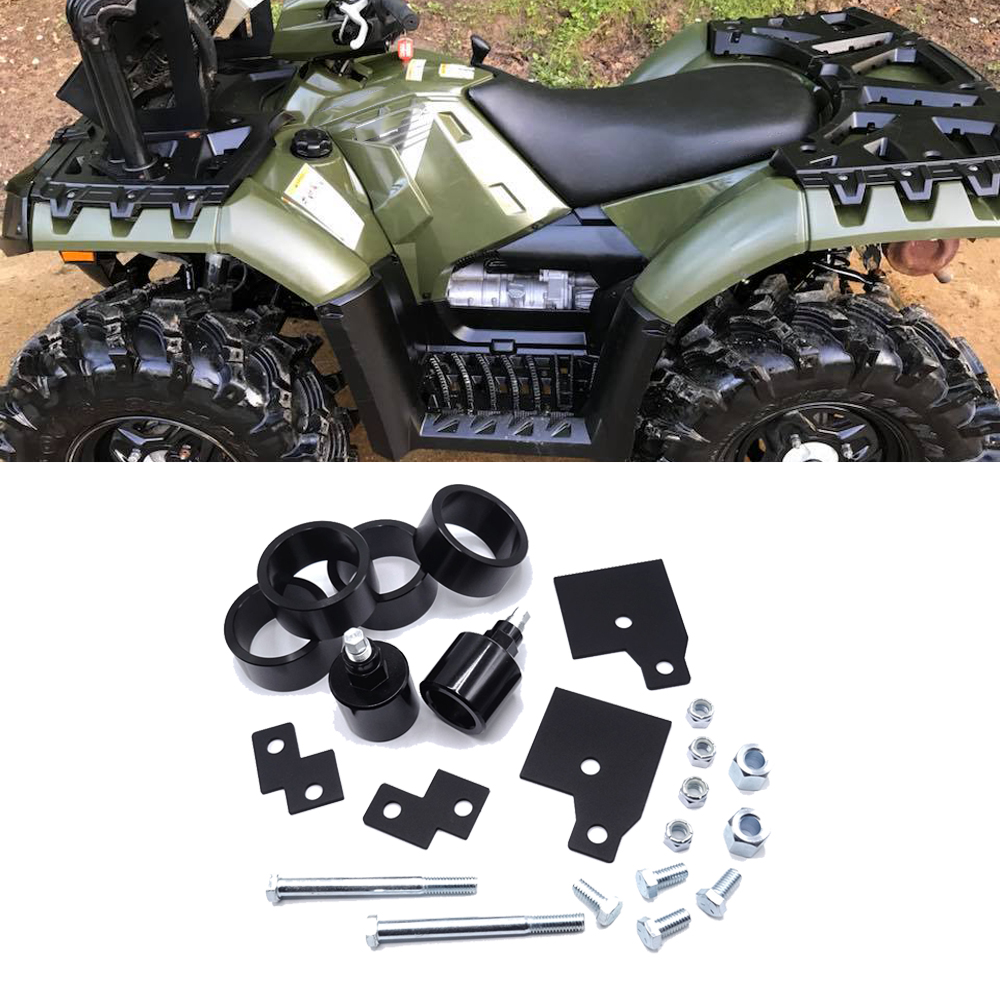 Front And Rear 4 Inches Lift Kit Suspension Set For 1999-2019 Polaris Sportsman 500 600 700 800 Models