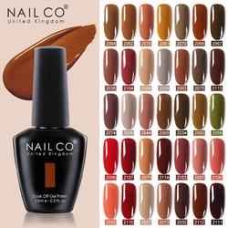 NAILCO Gel nail polish soak off UV & LED Semi-permanant Nail polish accessories gel nails art Gel for extension top base coat