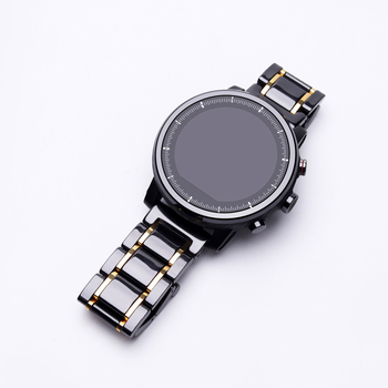 20mm 22mm ceramic band For Amazfit GTS/GTR 42 44 /Verge/Stratos 2 S /Pace/Bip Smart Watch High quality ceramic Replacement strap