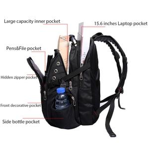 Image 4 - MAGIC UNION Brand Design Mens Travel Bag Man Swiss Backpack Polyester Bags Waterproof Anti Theft Backpack Laptop Backpacks Men