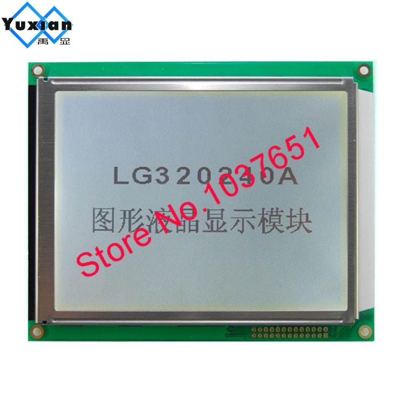 320240 Lcd Display Panel RA8835 Blue Or FSTN White Led With Touch Panel LG320240A Instead WG320240C0-TMI-TZ# HG32024014
