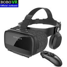цена на Original VR Virtual Reality 3D Glasses Box Stereo VR Google Cardboard Headset Helmet for IOS Android Smartphone,Bluetooth Rocker