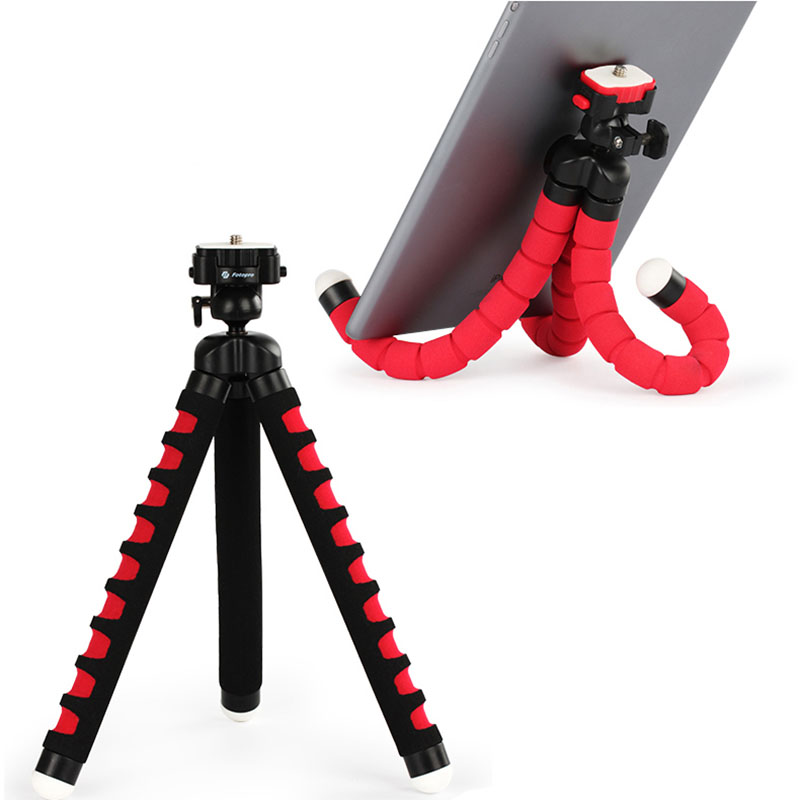 Fotopro portable mobile phone Octopus Tripod universal outdoor bracket Sticks mini micro single tripods Support <font><b>Frame</b></font> Stands image