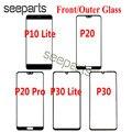 Для Huawei p20 P30 внешнее стекло Переднее стекло объектив сменный экран для Huawei P10 / P30 Lite внешнее стекло Переднее стекло P20 Pro