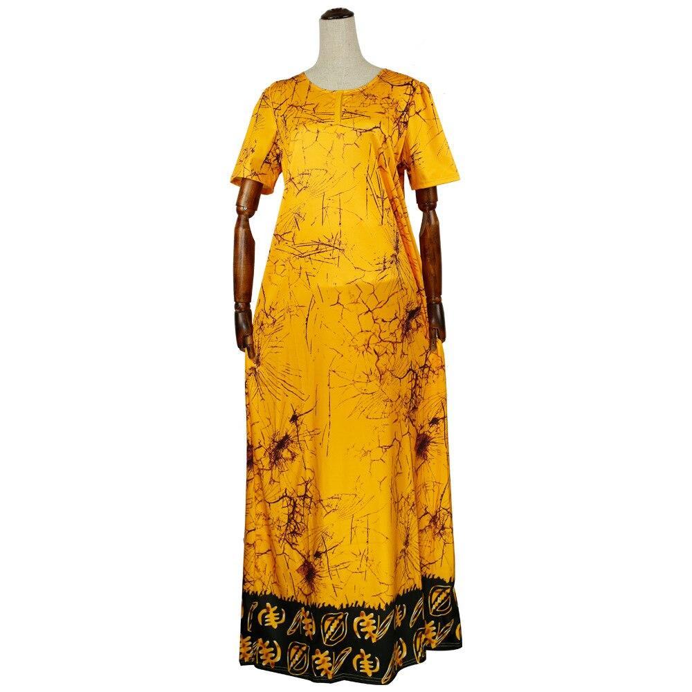 Африканская женская одежда галстук-краситель эффект чернила платье для рисования юбка