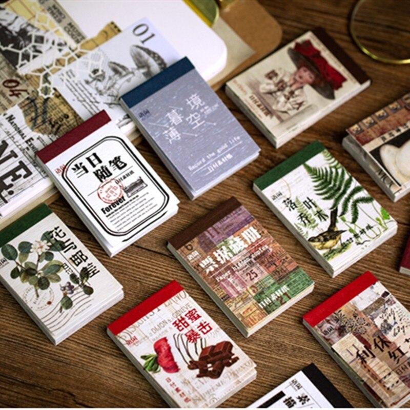 31 лист винтажные материалы для скрапбукинга стикер естественный вид Diy Декоративные наклейки для скрапбукинга Журнал Планировщик альбом