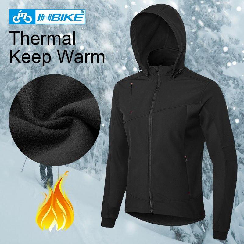 INBIKE hommes veste de cyclisme hiver coupe vent thermique chaud polaire vtt vélo vêtements vêtements de Sport en plein air Sport manteau vélo vêtements - 6