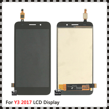 5.0 لهواوي Y3 2017 / Y3 2018 CRO L22 CRO L02 CRO L03 CRO L23 CRO U00 Y5 لايت 2017 LCD عرض + إحساس اللمس محول الأرقام