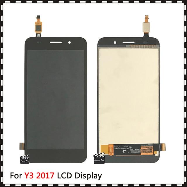5.0 dla Huawei Y3 2017 / Y3 2018 CRO L22 CRO L02 CRO L03 CRO L23 CRO U00 Y5 Lite 2017 wyświetlacz LCD + ekran dotykowy Digitizer