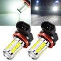 2 шт. H8 H11 Автомобильные светодиодные лампы для противотуманных фар для Toyota Land Cruiser Prado 150 Avensis Prius, Crown для Subaru Forester XV