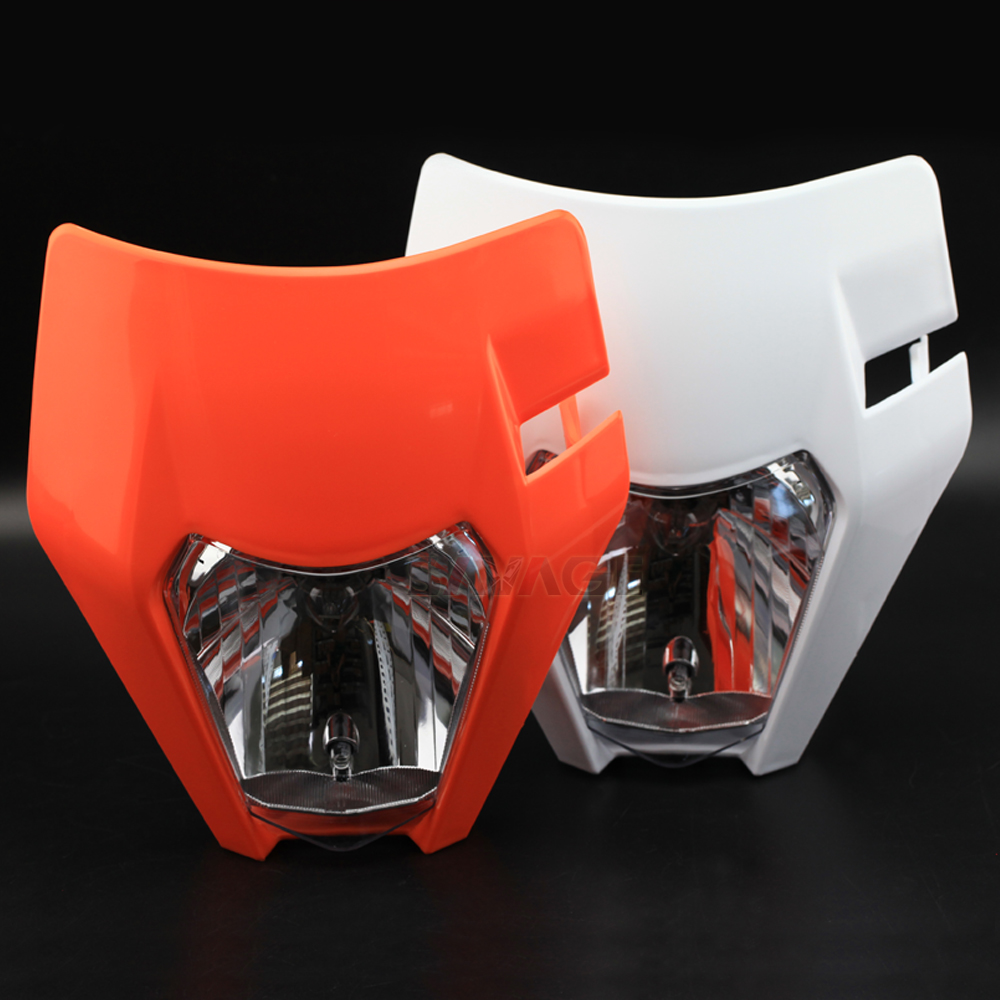 Headlight For KTM EXC EXCF XCW XCF W 125 200 250 300 350 450 500 SIX DAYS 2014 2020 16 17 18 19 Motorcycle Headlamp Head Light   - title=
