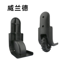 Replacement luggage wheel  part repair accessorie replacement wheels Flight Case new fashion black fixed