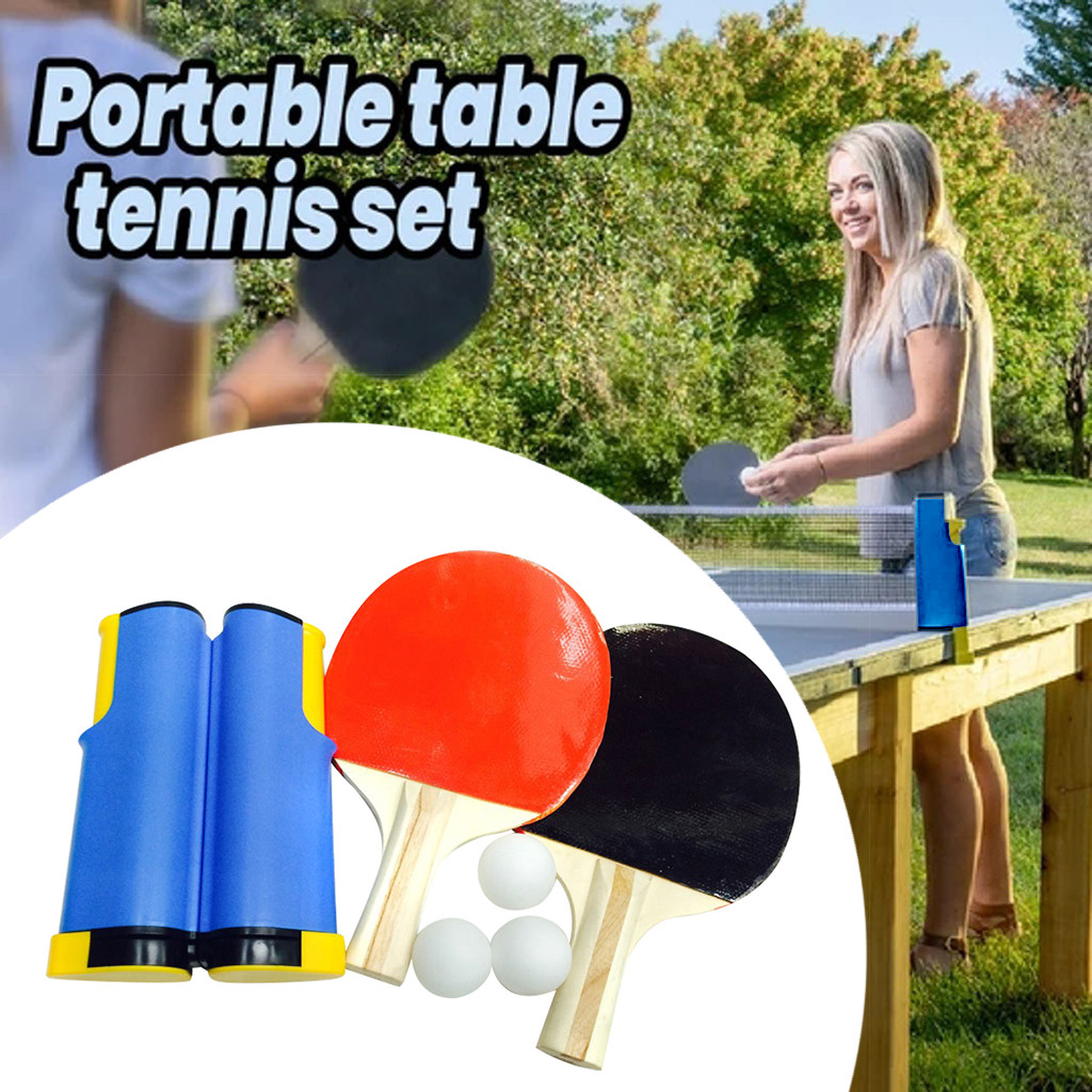 Table Tennis Net Rack Set Home Kitchen