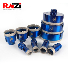 Raizi 1 Pc 20-125 mm Porcelain Ceramic Tile drill bit for granite marble M14 Diamond tile Hole saw Cutter bit