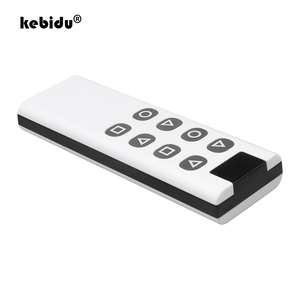 Image 1 - 8 Botones inalámbrico de 433Mhz copia clonación a Control remoto código para puerta de garaje puerta alarma duplicador de 1000M de largo transmisor