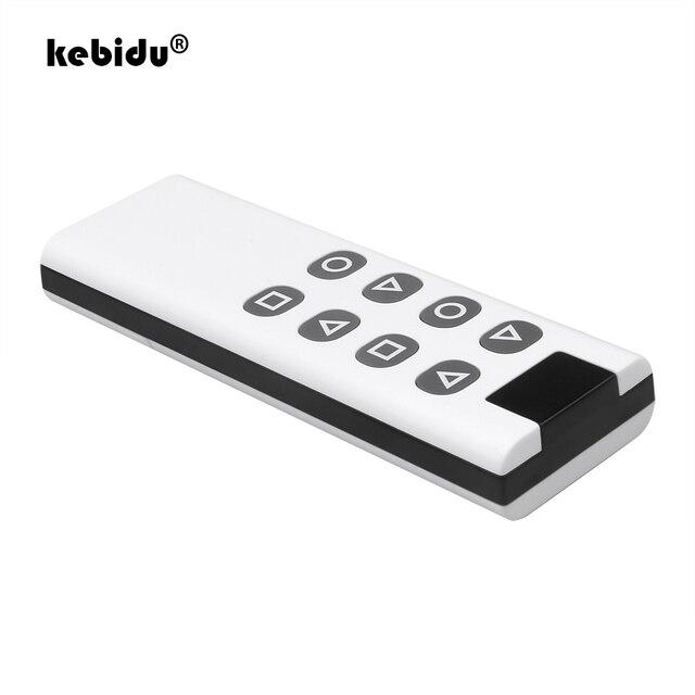 8 Botones inalámbrico de 433Mhz copia clonación a Control remoto código para puerta de garaje puerta alarma duplicador de 1000M de largo transmisor