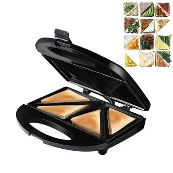 Electric Sandwich Maker Nonstick Egg Bubble Cake Oven Bread Grill Waffle Crepe Toaster Breakfast Machine Waffles Maker 750W 220V цена 2017