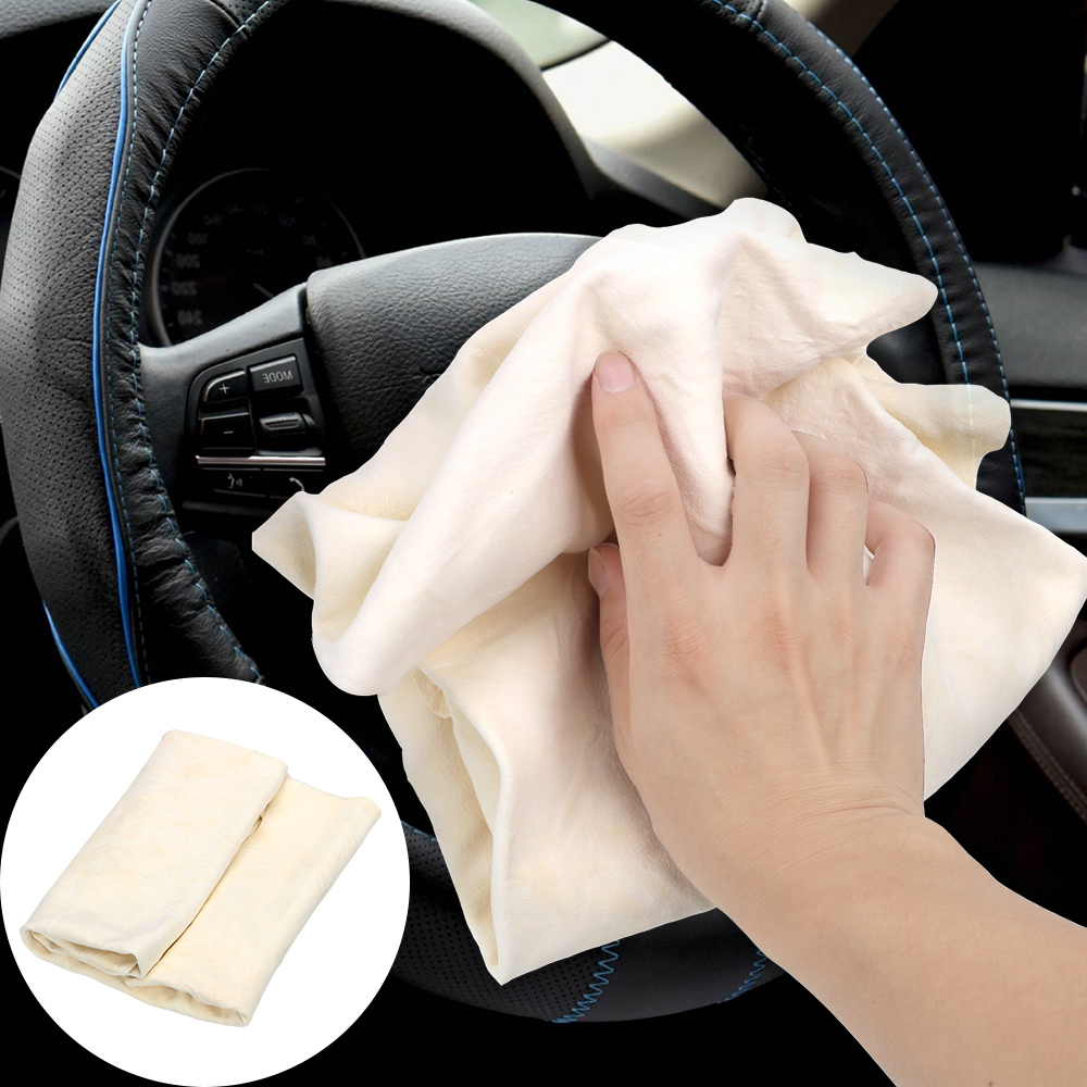 LEEPEE Car Cleaning Cloth Wash Suede Absorbent Quick Dry Towel Genuine Leather Car Cleaning Tool Car Wash Towel