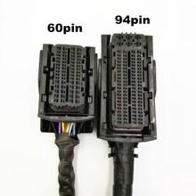 1 ערכת ECU/EDC17/16 מחשב לוח תקע 94 פין עם מלא חוט או 60 פין עם מלא חוט שקע מחשב לוח תקע לרתום תיל