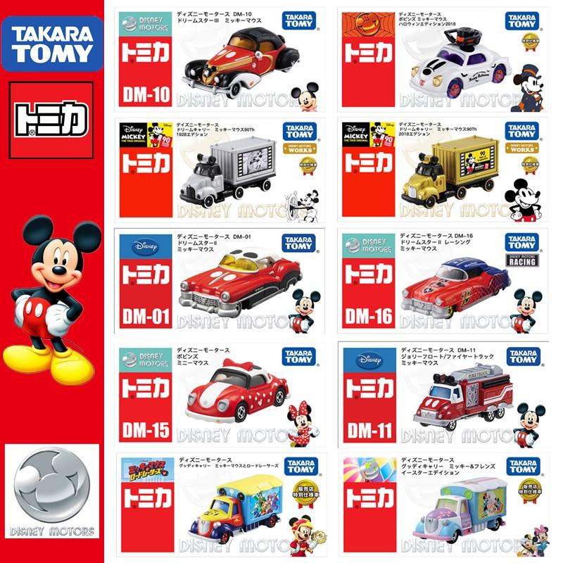 TOMICA Disney Motors Mickey Minnie série film & TV japon TAKARA TOMY modèle Collection voiture véhicules enfants jouets cadeau limité