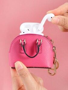 Image 3 - をmilesiファッションバッグペンダント女性キーホルダー女性のハンドバッグアクセサリーかわいいミニチュアハンドバッグためスマート人形mp373