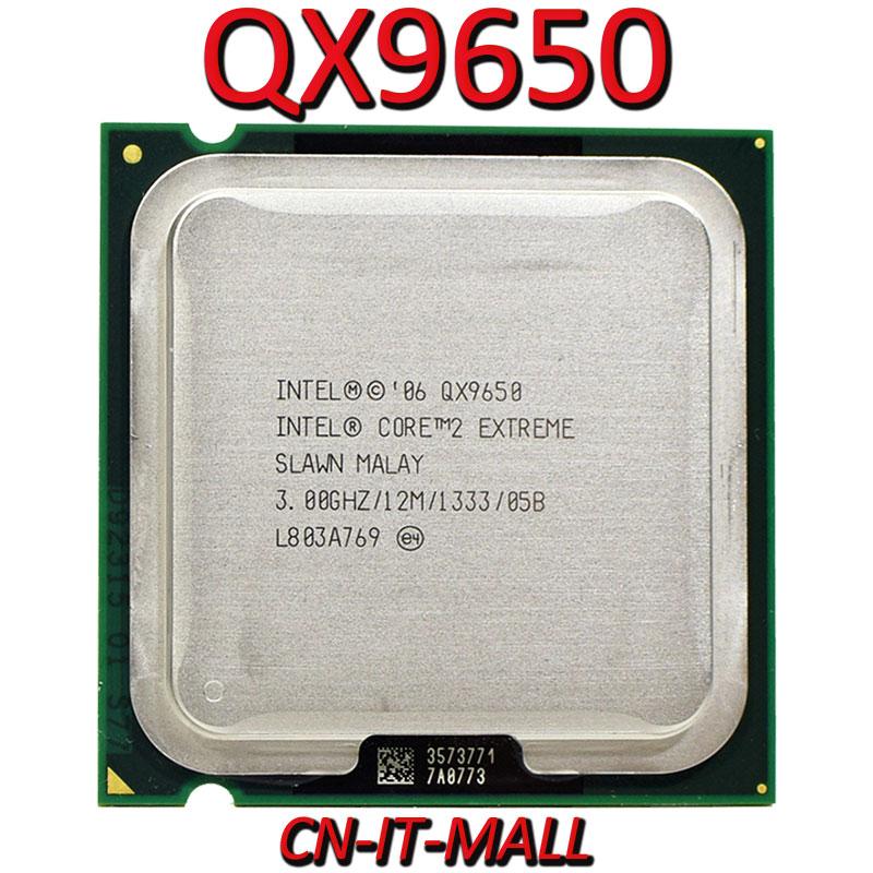 Intel Core QX9650 CPU 3.0G 12M 4 Core 4 Thread LGA775 Processor