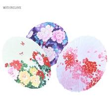 Chinese Japanese Silk Oilpaper Umbrellas Parasol Photography Props Umbrellas Cosplay Costumes Wedding Party Decoration Umbrellas