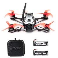 EMAX Tinyhawk II FPV Racing Drone 120 km/h F4 5A ESC Bürstenlosen Motor 7000KV RunCam Nano2 700TVL 37CH 25/ 100/200mW VTX Quadcopter