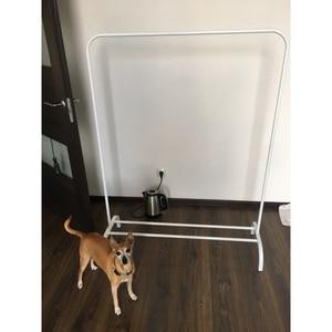 Image 3 - Prosty stojący wieszak na ubrania wieszak do pralni podłoga wieszak na ubrania półki magazynowe meble do sypialni