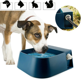 Pet Automatic Water Storage Bowl with Floating Ball Automatic Water Dispenser 2L Bowl Sheep Horse Dog Cat Drinking Fountain 1
