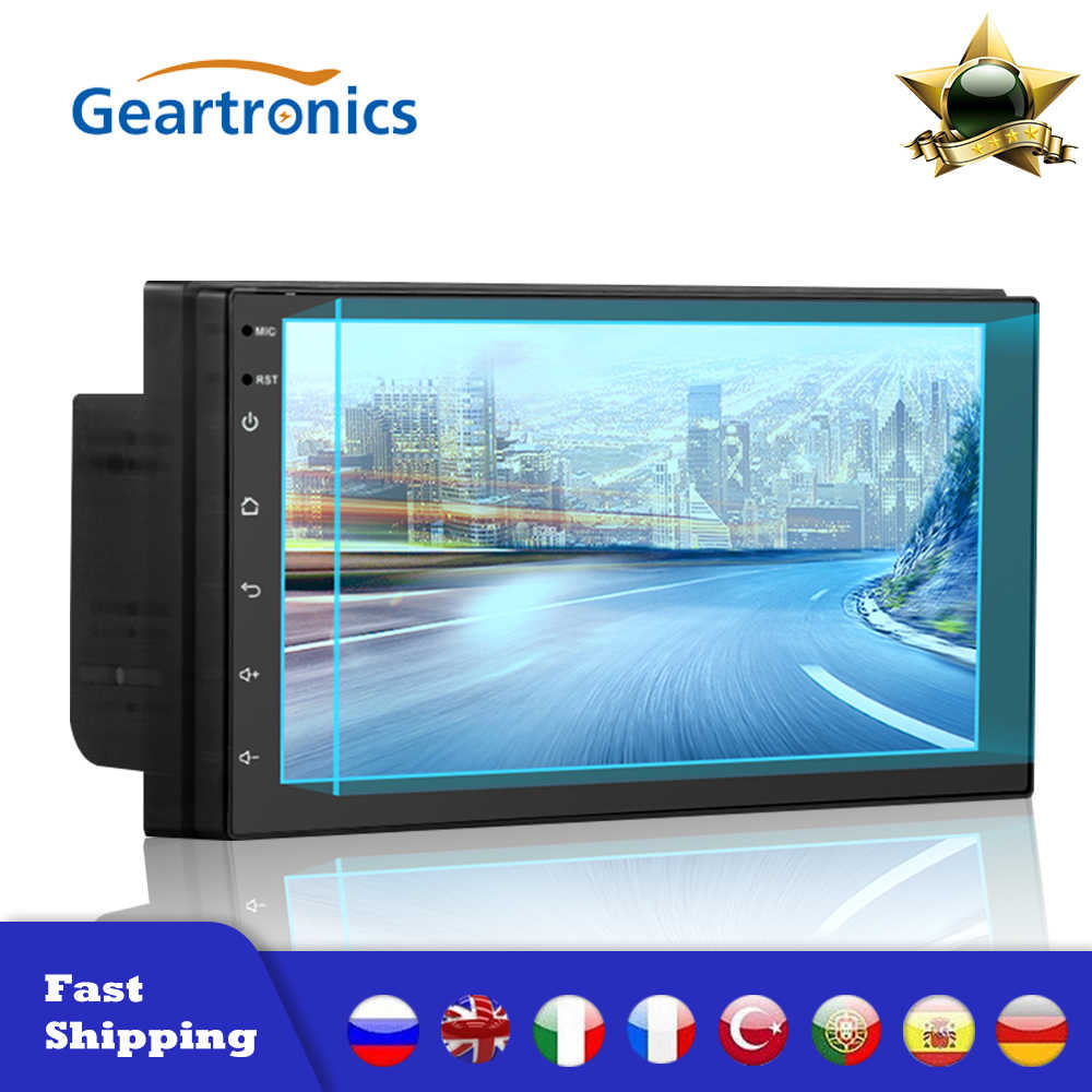 "2Din Universele Android 8.1 7 ""Auto Radio Touch Screen Gps Wifi MP5 Multimedia Player Wifi Stereo Fm Auto Spiegel link MP5 Speler"