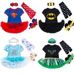 Vestido bonito da menina do bebê da luva longa roupas elsa anna trajes para babi babi férias infantil roupas meninas vestido de festa de aniversário