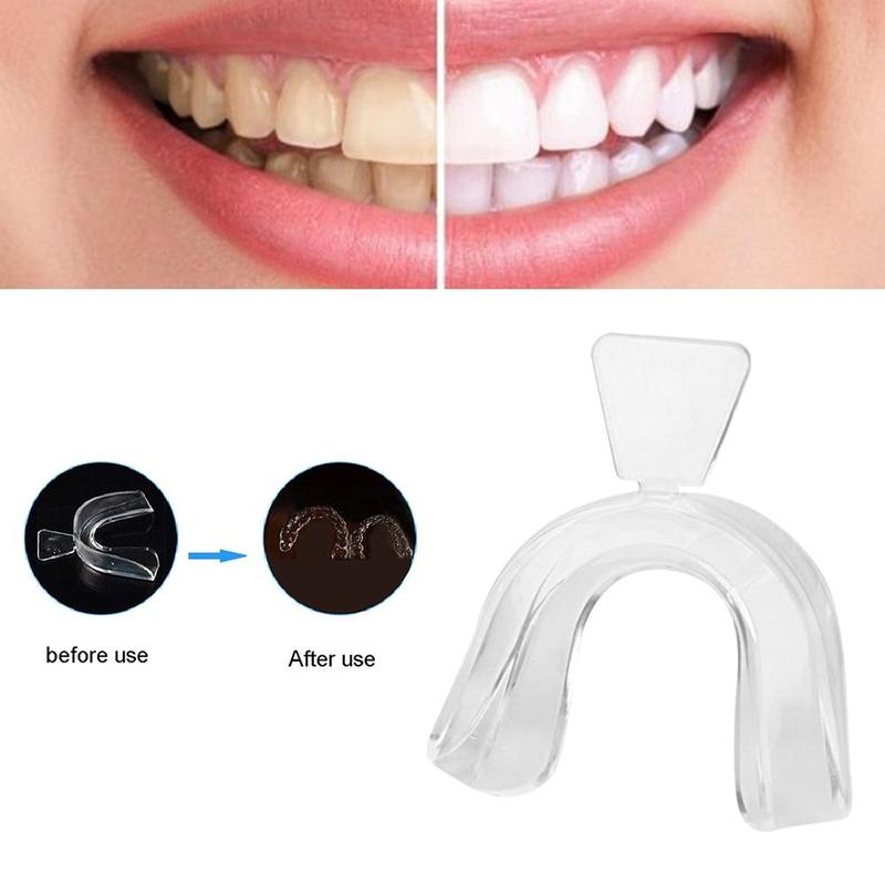 500 PairsSilicone Night Mouth Guard Teeth Clenaning Grinding Dental Bite Sleep Aid Whitening Teeth Mouth Tray Blanqueador Dental