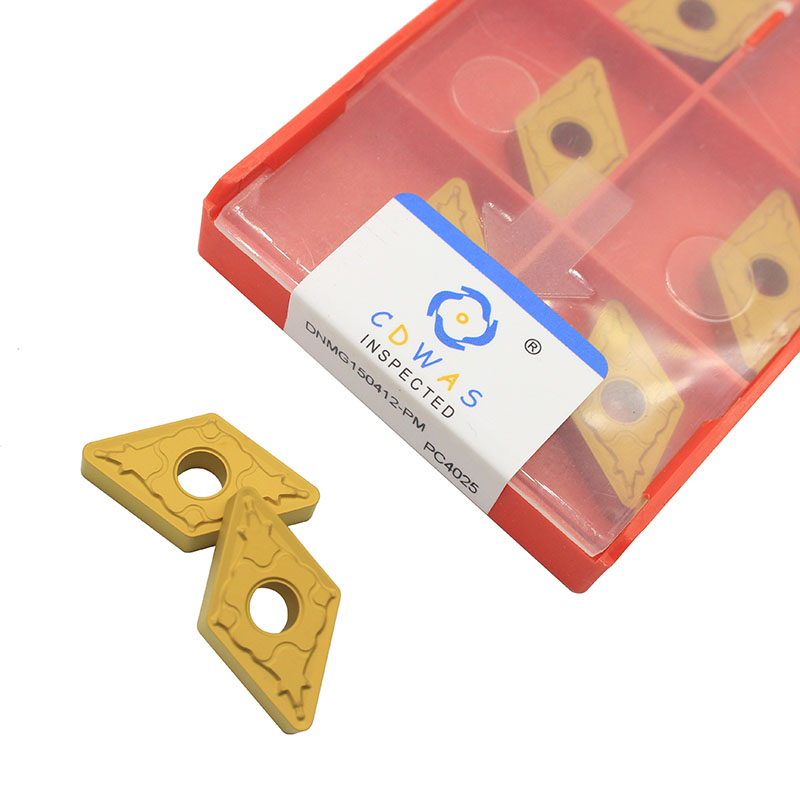 DNMG150412 PM PC4025 High Quality Carbide Inserts External Turning Tool Blade DNMG 150408 CNC Lathe Cutter Tool For Hard Steel