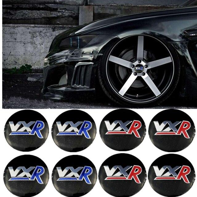 56 millimetri 3D Auto del Centro di Rotella Della Copertura Autoadesivo per Vauxhall Astra H J Zafira Antara Mokka Insignia Maloo per VXR logo Auto della Protezione di Mozzo Badge
