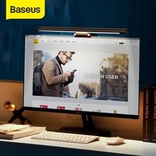 Baseus Led لمبة مكتب قابل للتعديل القراءة شاشة معلقة ضوء الكمبيوتر حماية العين مصباح USB مصباح قابل لإعادة الشحن للمنزل مكتب