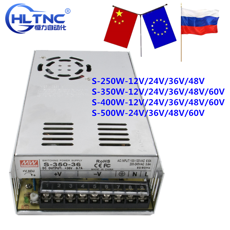 switching power supply 250 w-<font><b>500</b></font> w ac110/220v <font><b>dc</b></font> 12 v 24 v 36 v 48 v 60 v <font><b>dc</b></font> image
