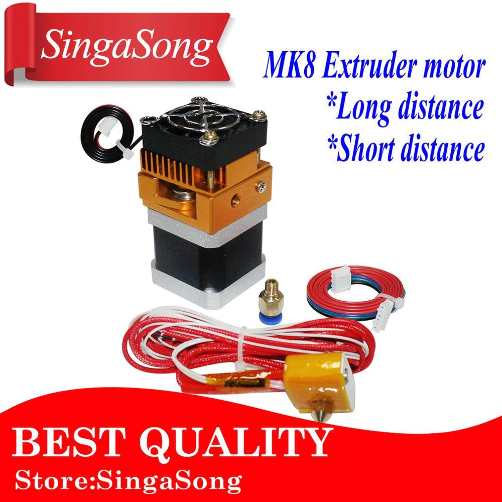 Nema17 Stepper Motor 42 Motor Nema 17 Motor 42BYGH 17HS4401 Motor With MK8 Extruder Head J-head Hotend 0.4mm Nozzle Kit